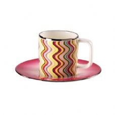 Richard Ginori Missoni Margherita Coffee Saucer